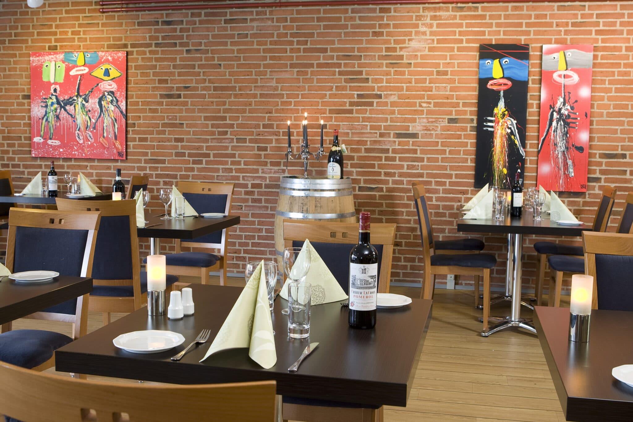 Restaurant og overnatning i Horsens